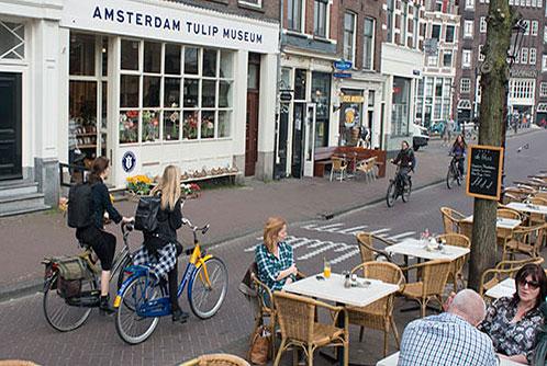 Press for Amsterdam Tulip Museum